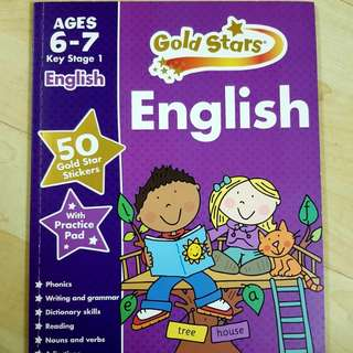 Phonics, Writing, Vocabulary, Reading for 6-7 yrs old