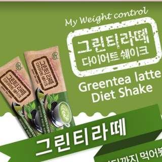 韓國瘦身奶昔(Green tea latte)