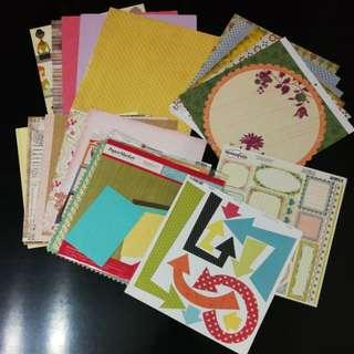 Grab Bag 3 : Scrapbook 12x12 Papers