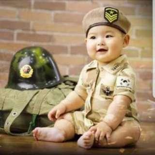 DOTS Baby Costume