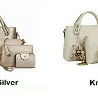 Tas fashion import / tas wanita (tas cantik multi size)