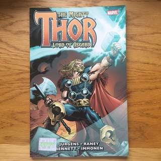 The Mighty Thor: Lord of Asgard