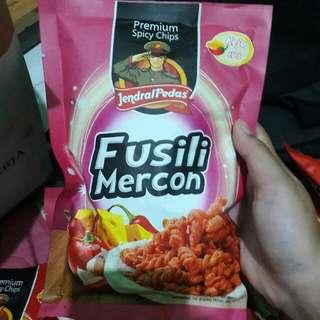 FUSILI MERCON Jendral Pedas 100gram