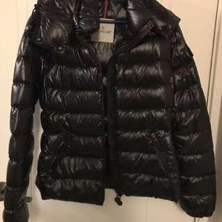 Moncler black bady down jacket