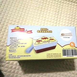 布甸狗 餐盒連餐具套裝