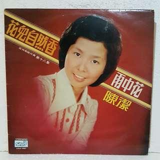 陈洁 - 雨中花 Vinyl Record