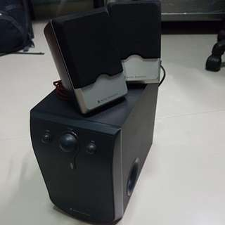 Audio Technica speakers with subwoofer