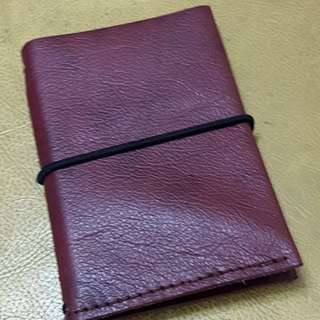 Minimalist Leather Wallet & Card Holder #2