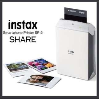 brand new instax sp-2 printer