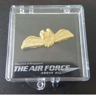 Singapore Air Force collar pin