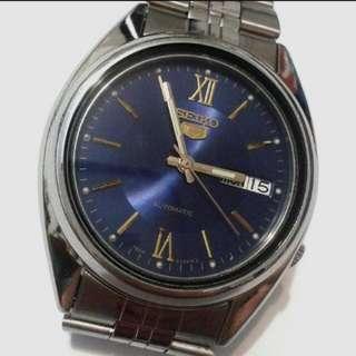 SEIKO 5 (Rear Transprent) Automatic watch  bezel 36mm 21 jewels