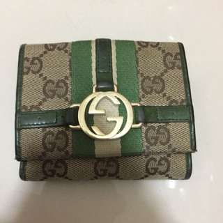 Preloved Gucci GG wallet