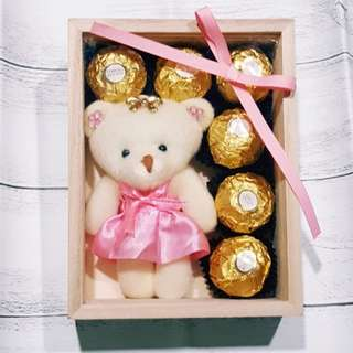 Bear Chocolate Gift Set