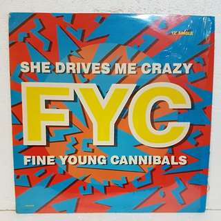 FYC (Fine Young Cannibals) - She Drives Me Crazy Vinyl Record