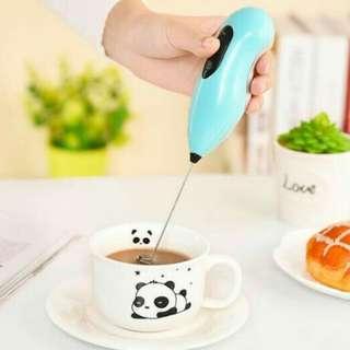 Hand mixer mini (pengaduk minuman/telur) praktis