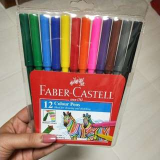 [BNIP] Faber-Castell colour pens - marker pens