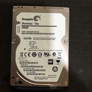 """Seagate 2.5"""" 500GB HDD for sale"""