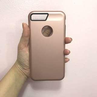 Miniso Rose Gold Iphone 7 plus case