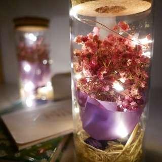 Valentine Gift - dried baby breath flower