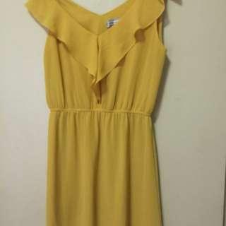 Cannary Yellow Dress
