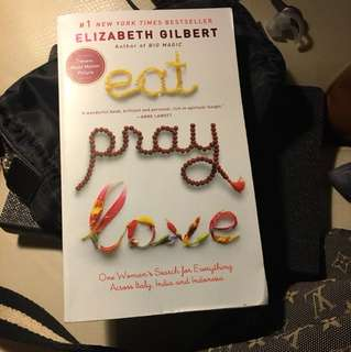 Eng version novel eat pray love