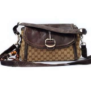 Auth Gucci shoulder bag