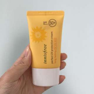 Innisfree Perfect UV Protection Cream Long Lasting for Oily Skin SPF 50+ PA++++