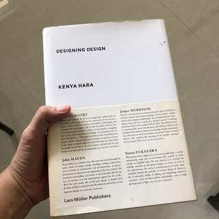 Designing Design - Kenya Hara (Hard Cover)