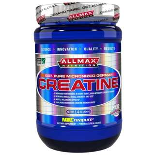 🚚 ALLMAX Nutrition, Creatine Micronized 500g  Allmax creatine肌酸 (訓練前)