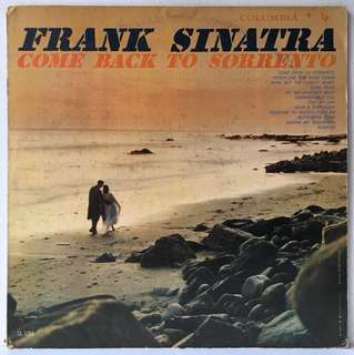 Frank Sinatra ‎– Come Back To Sorrento (1959 US Original - Vinyl is Excellent - Columbia Six Eye Label)