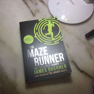 Book 1 in the maze runner series