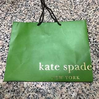 Kate Spade Paper Bag