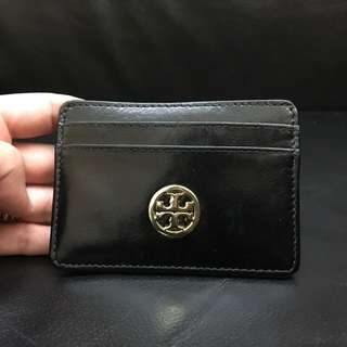 Brand New Tory Burch leather card case
