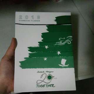 Starbucks Planner + Serenitea Planner