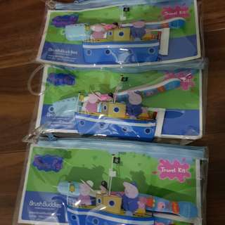 Brush buddies Peppa pig toothbrush and toothpaste
