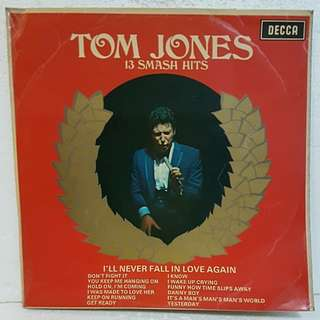 Tom Jones - 13 Smash Hits  Vinyl Record