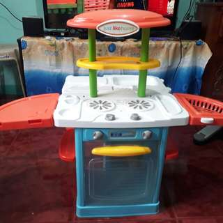 Just like home kitchen play set