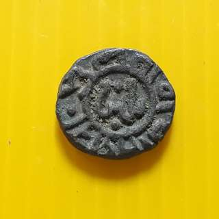 2 Ghani - Ghiyath al-Din Balban (1266-1287) Billon – 3.6 g – ø 16.94 mm - bi17 - Beautiful vintage Billion Coin Medieval Islamic Persian ( 600 - 1000 Years old ) DELHI SULTAN  india