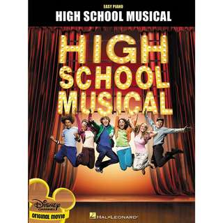 High School Musical Easy Piano by Hal Leonard