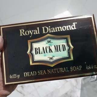 Dead sea mud cosmetic soap