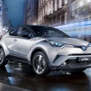 Toyota CHR for one week relief