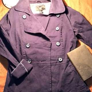 H&M denim coat