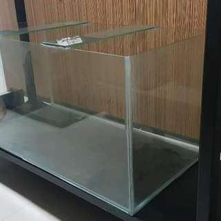 Fish tank 3x1.5x1.5ftx6mm thk (PRICE REDUCED TO CLEAR!)