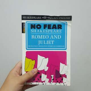 No Fear Shakespear: Romeo And Juliet