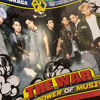 EXO POWER OF MUSIC POSTER