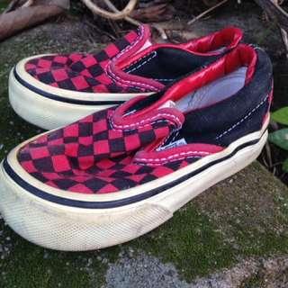 Vans checkerboards