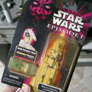 Star Wars Episode 1 battle droid