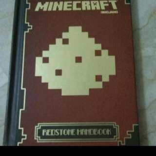 Minecraft Red Stone Handbook  In Good Condition