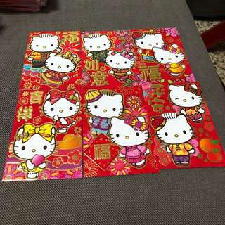 Hello kitty Sanrio red packet