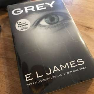 Grey - Fifty shades of grey Brand New Book